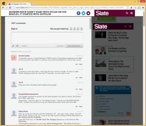 Slate.com comentários